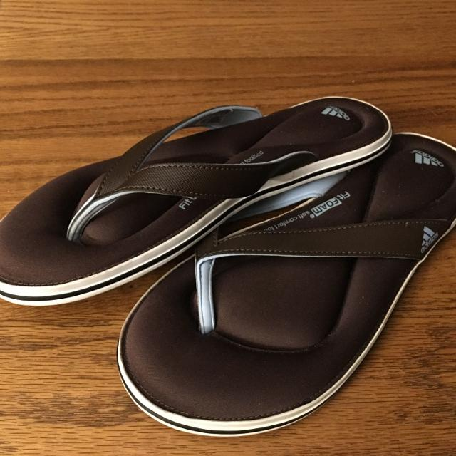 9a648375e Find more Adidas Fit Foam Flip Flops New Size 8.  10.00 for sale at ...