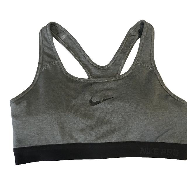 Best Nike Pro Women S Padded Grey Sports Bra Dri Fit Size Medium For Sale In Tampa Florida For 2020