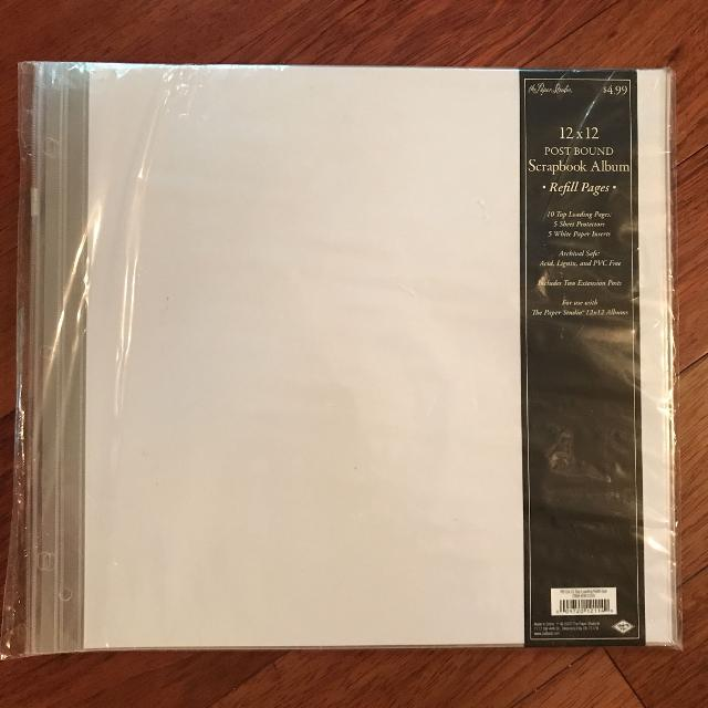 Best 12 X 12 Post Bound Scrapbook Album Refill Pages For Sale In