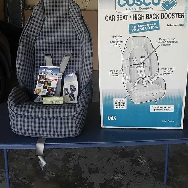 Costco Car Seat High Back Booster Brand New Never Used