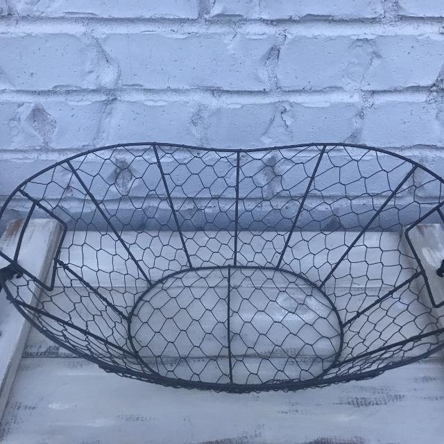 Find more Chicken Wire Egg/misc. Basket ( 16 1/4 X 11 1/4) for sale ...