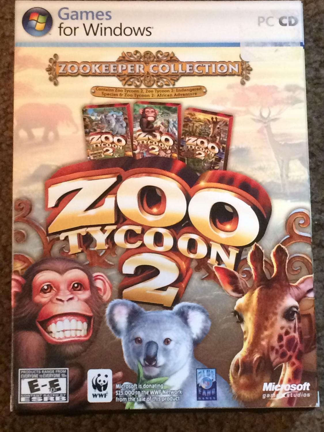 Zoo Tycoon 2: Zookeeper Collection (PC)