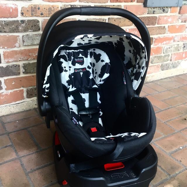 Britax Cowmooflage Infant Car Seat