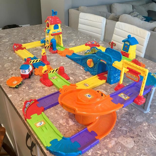 Find More Vtech Go Smart Wheels Train Station Playset For Sale At