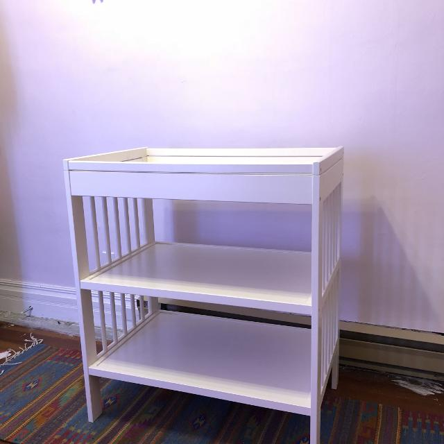 White Ikea Baby Change Table Price Reduced