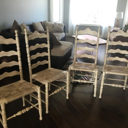 Ladderback Chairs dining chairs for sale  Canada