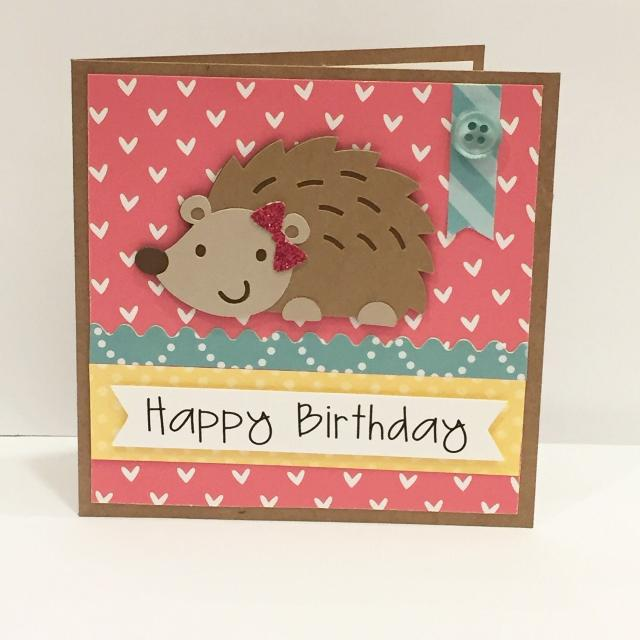 Find More Handmade Birthday Card Hedgehog For Sale At Up To 90 Off