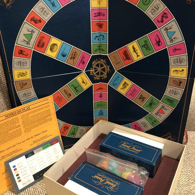 Trivial pursuit genus edition board game replacement cards $4. 52.