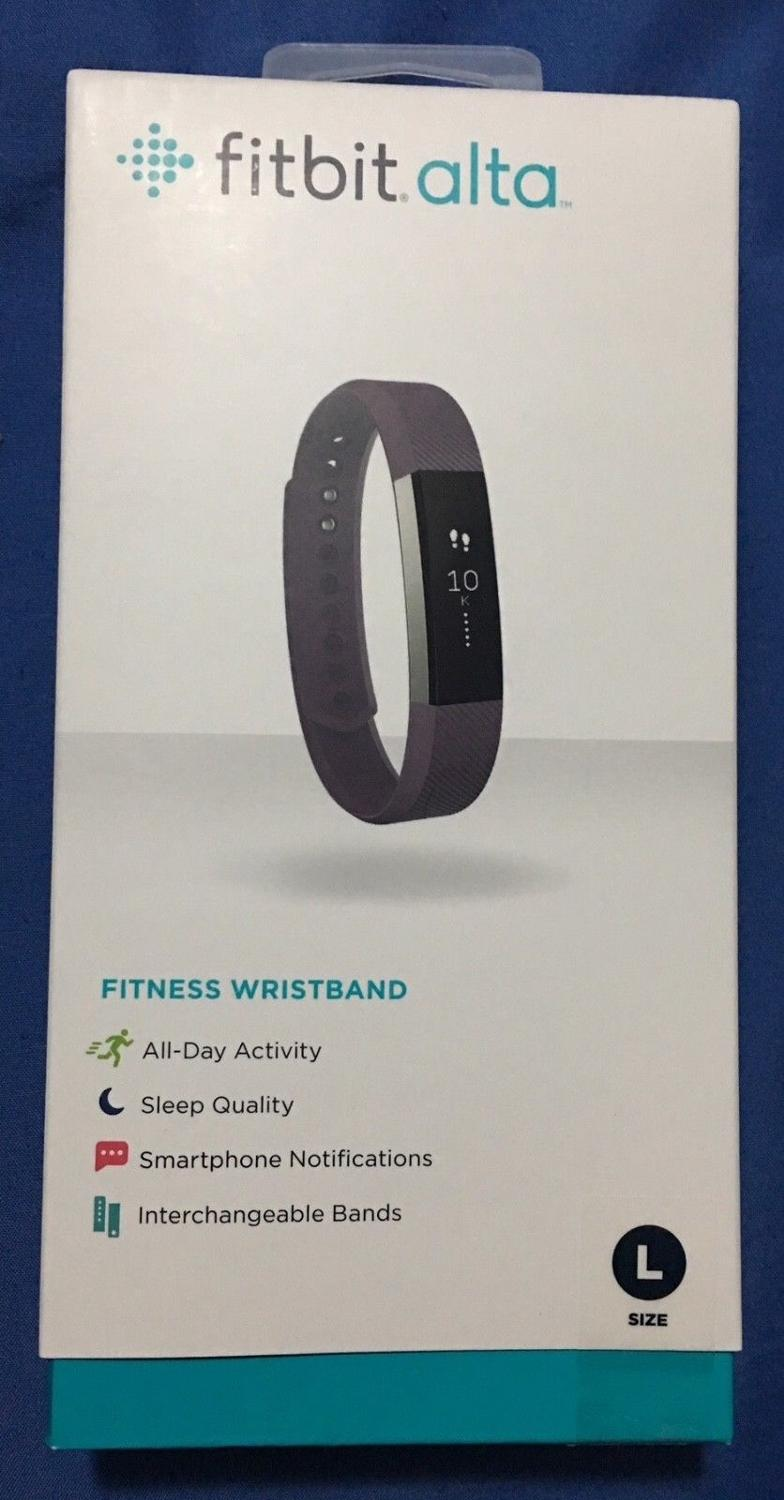 Find More Fitbit Alta For Sale At Up To 90 Off Plum Size Large