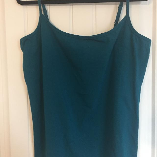 45e925fb52e35 Find more Plus Size Tank Top-teal Green Size 3x for sale at up to 90 ...
