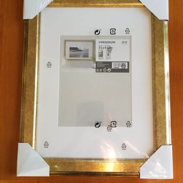 Find more Virserum Ikea Gold Frame for sale at up to 90% off
