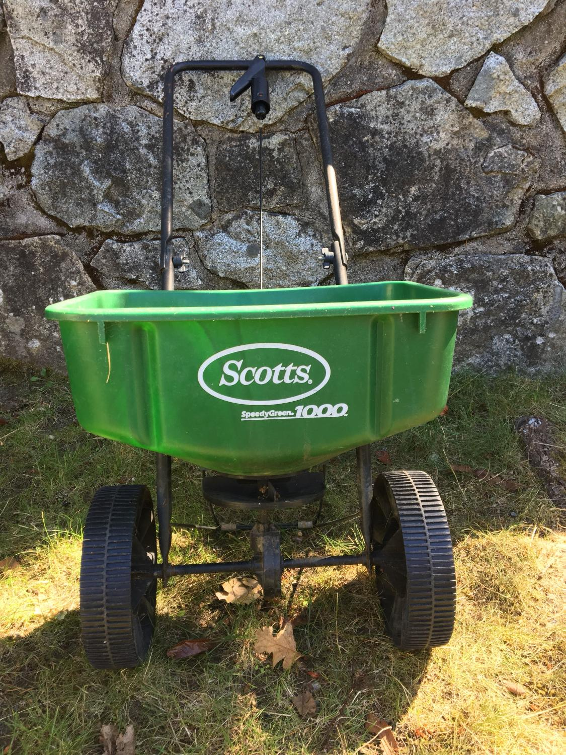 Find More Scotts Seed Or Fertilizer Spreader For Sale At Up To 90 Off
