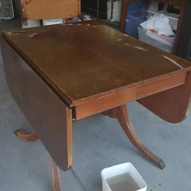 Antique Drop Leaf Table >> Best Vintage Drop Leaf Table And Chairs For Sale In Denver Colorado