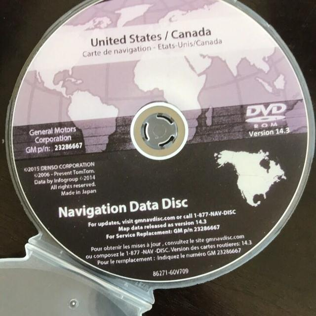 Find more Gm Navigation Data Disc Version 14.3 for sale at up to 90% off