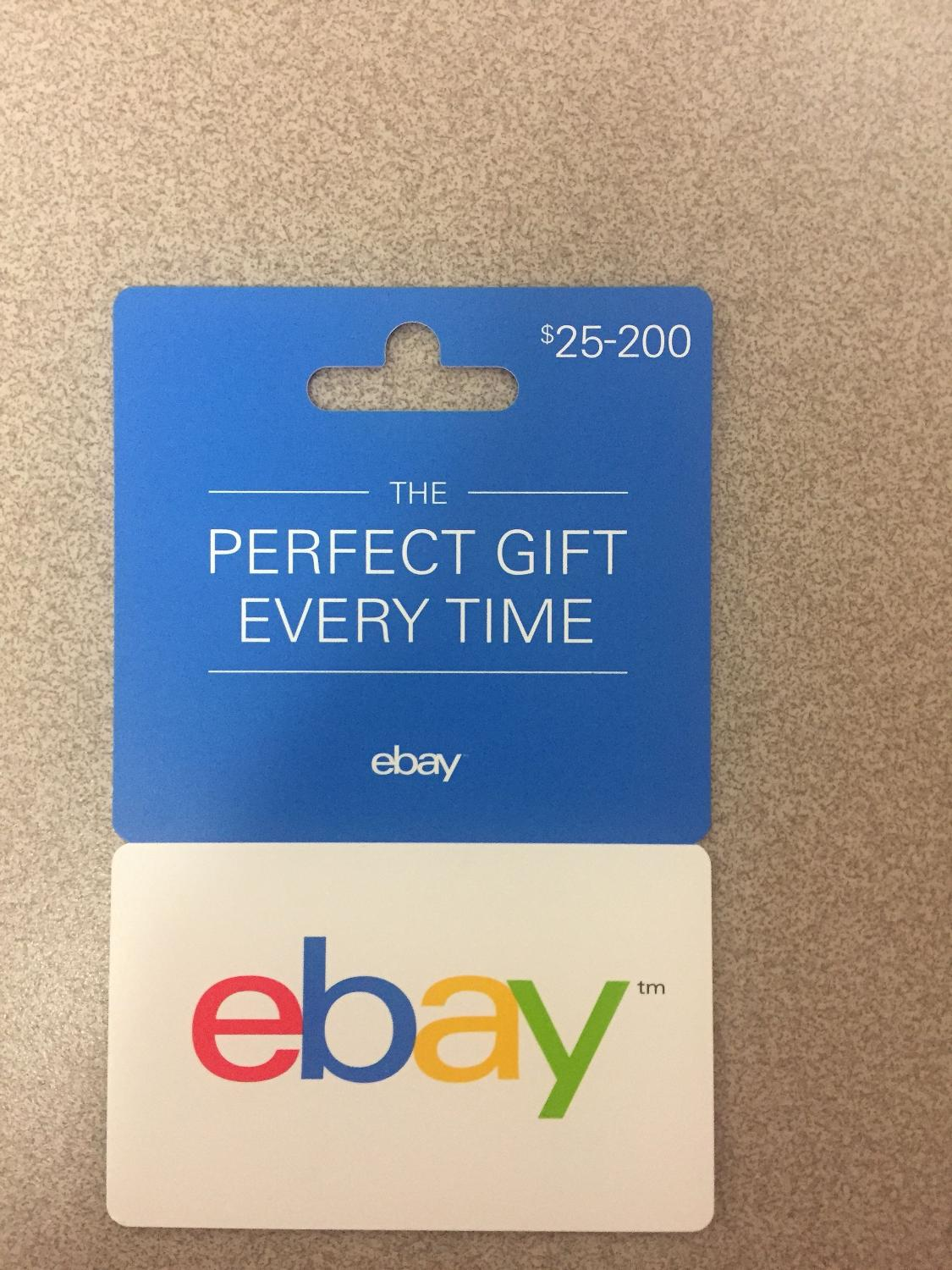 Find More 100 Ebay Gift Card For 85 Final Reduction For Sale At Up To 90 Off