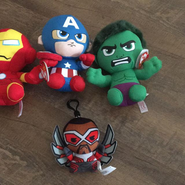 Best Bnwt Ty Beanie Baby Marvel Plush One Backpack Clip ( Not Ty) for sale  in Clarington 6ec6ad38c6d