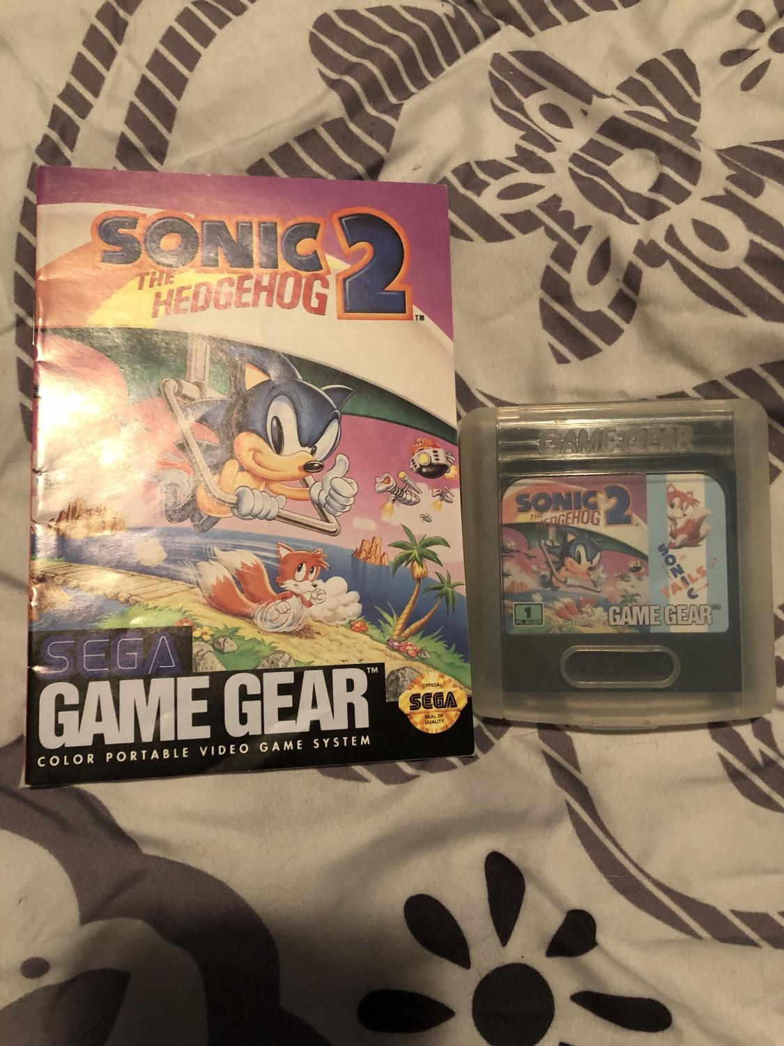 Best Sonic The Hedgehog 2 Sega Game Gear For Sale In Victoria British Columbia For 2020