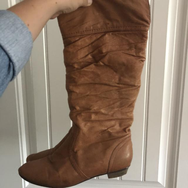 a3500f8c713 Find more Steve Madden Pigskin Mid-calf Boots for sale at up to 90% off