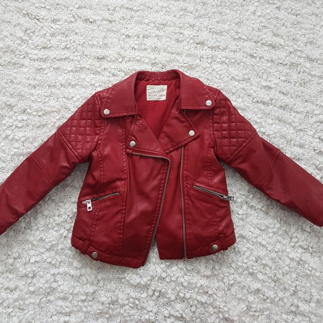 49a15567 Best Girls Zara Faux Leather Jacket, Size 5/6 for sale in Ajax, Ontario for  2019