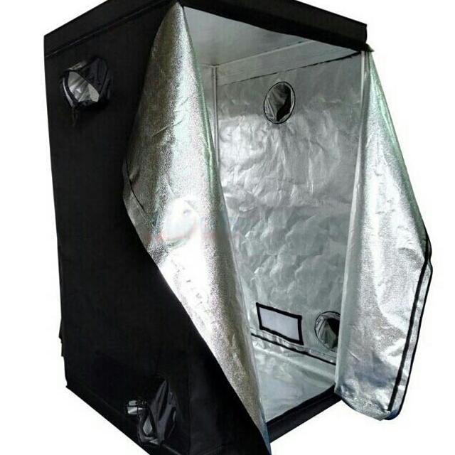 NEW IN BOX 4x4 Grow Pro Tent Kit w/ 315w LEC CMH & 2 300w LED Grow Lights,  Duct Fan, Carbon Filter
