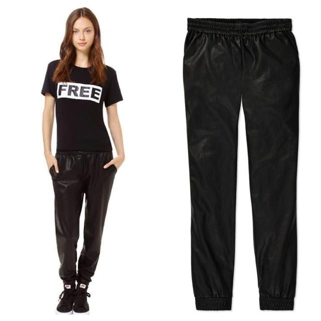 7ed5f036d7300f Find more $165 Wilfred Free Faux Leather Joggers/pants for sale at ...