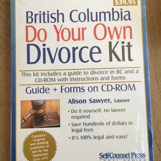Best price drop diy divorce kit new for sale in victoria british diy divorce kit new solutioingenieria Choice Image
