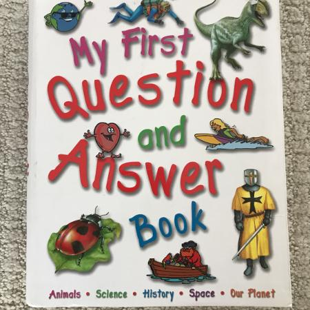 My first question and answer book for sale  Canada