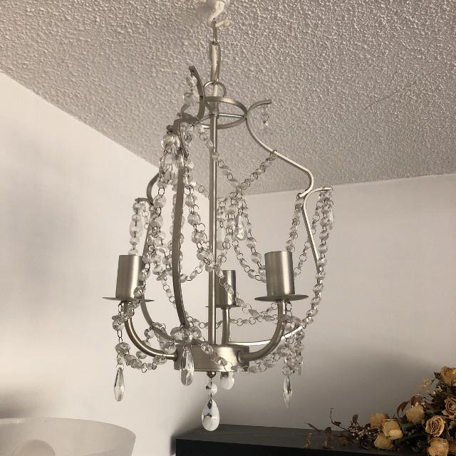 Best pretty ikea chandelier for sale in victoria british columbia pretty ikea chandelier mozeypictures Image collections