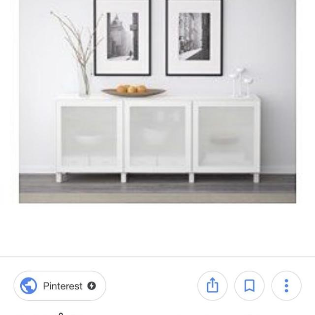 Best Ikea Besta Storage With Frosted