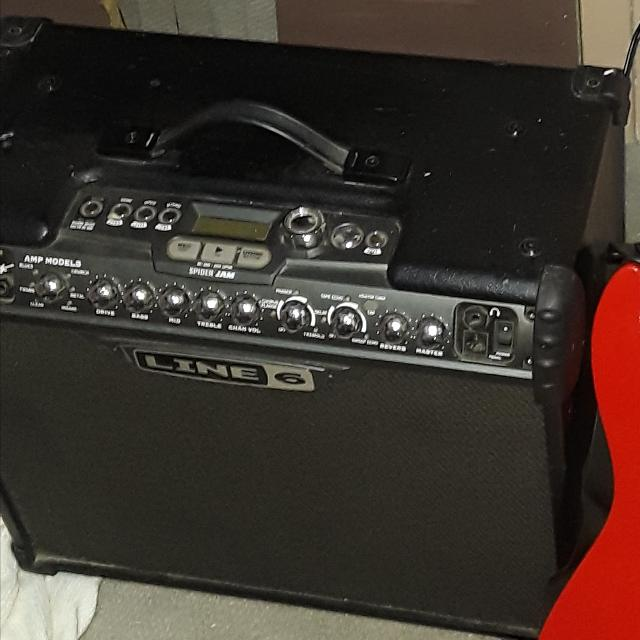 The line 6 Spider Jam for Guitar 75 watt