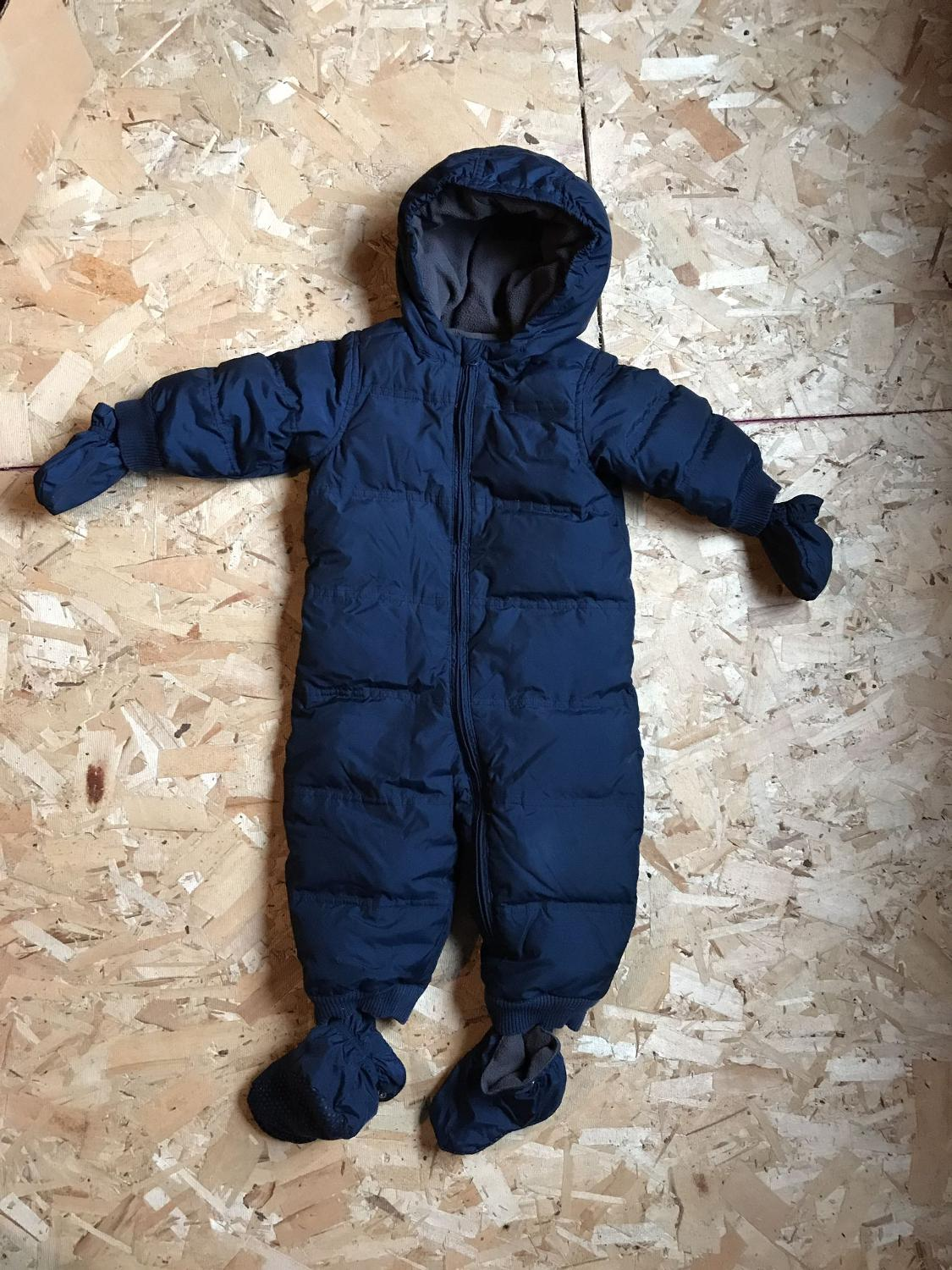 5f58bced7c93 Find more One Piece Down-filled Snowsuit 18-24 Months for sale at up ...
