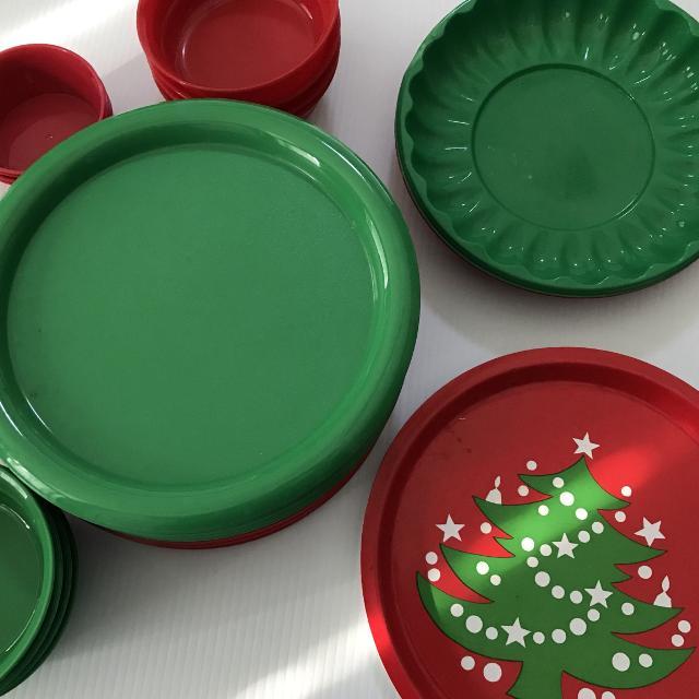 Best Plastic Christmas Tableware For Sale In Brenham Texas For 2019