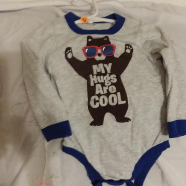 7c07a6132 Find more Old Navy Baby Boy Longsleve Onies Size 18-24 Months ...