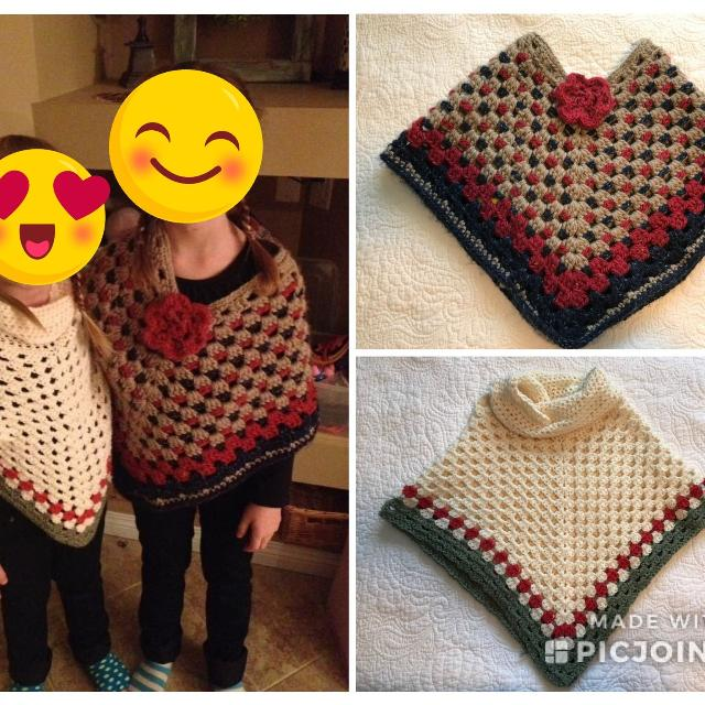 Find More Kids Crochet Ponchos For Sale At Up To 90 Off