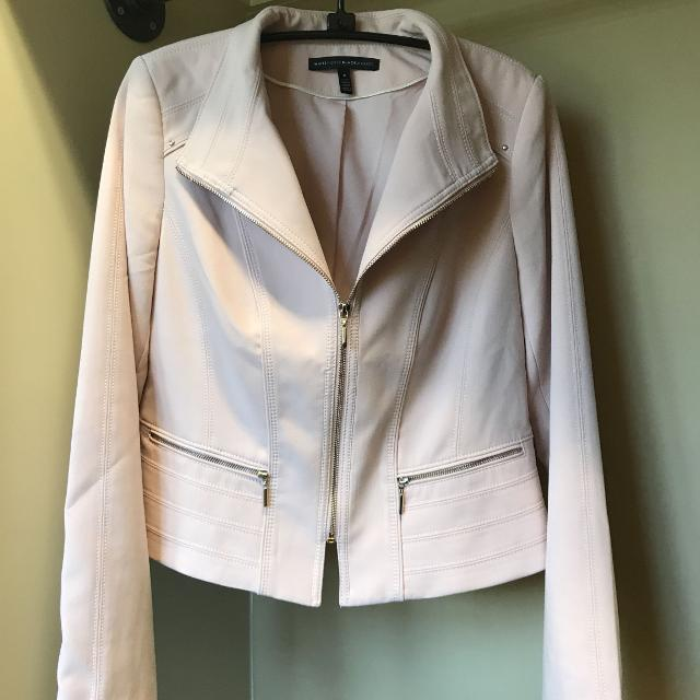 Blush White House Black Market jacket- 8