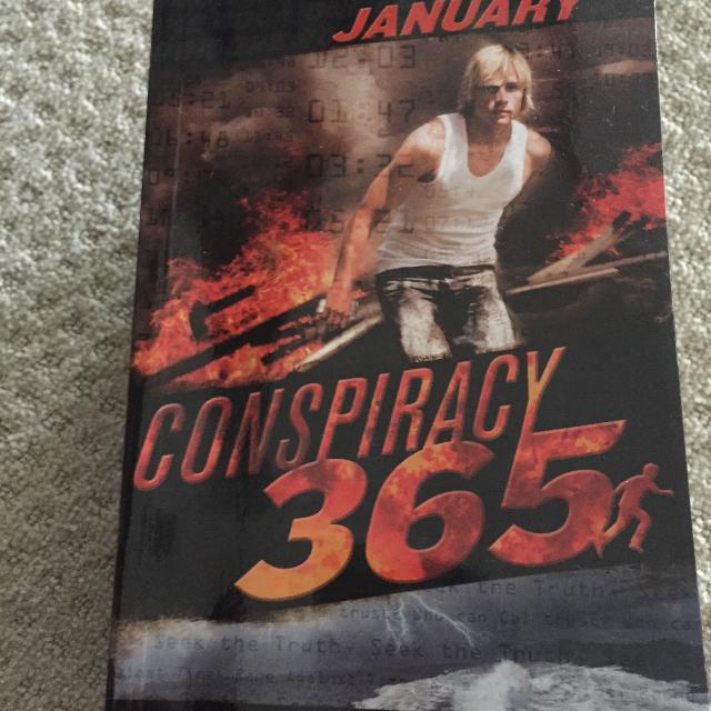 Conspiracy 365  Action packed books  $ 2/book  $15 for all