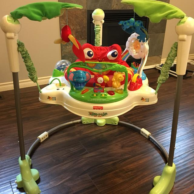 fedbcd01d Best Fisher Price Rainforest Jumperoo for sale in Airdrie