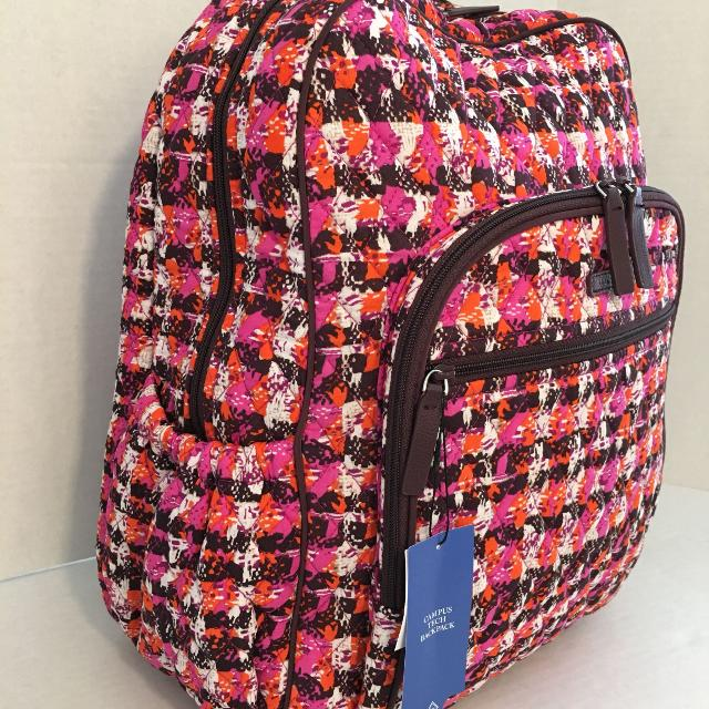 c9fed5e680f1 Find more  new Vera Bradley Campus Tech Backpack for sale at up to ...