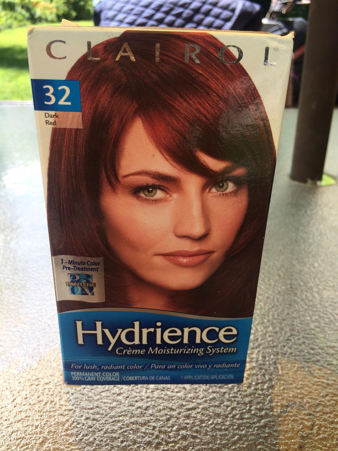 Best Bnib Dark Red Hair Colour Clairol Hydrience For Sale In