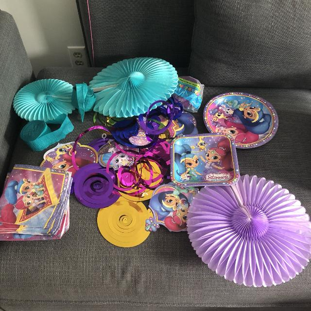 Best Shimmer And Shine Birthday Decorations For Sale In Dollard Des Ormeaux Quebec 2019