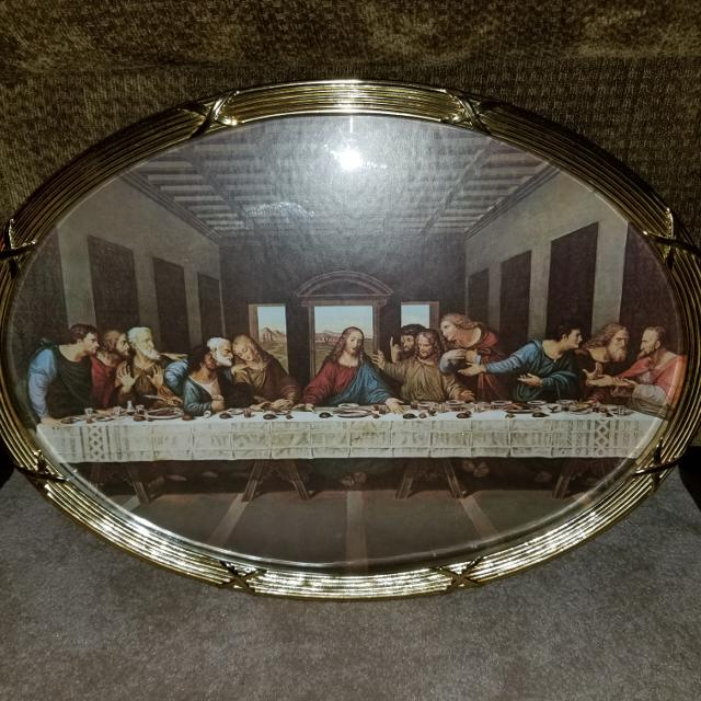 Luxury Home Interior Last Supper Picture