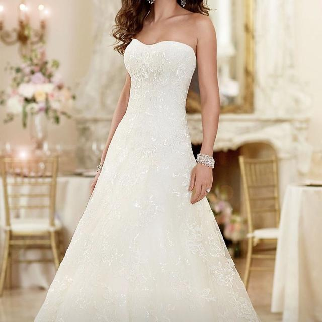 da18c2e89a0 Find more Stella York Wedding Dress - 16 18 for sale at up to 90% off