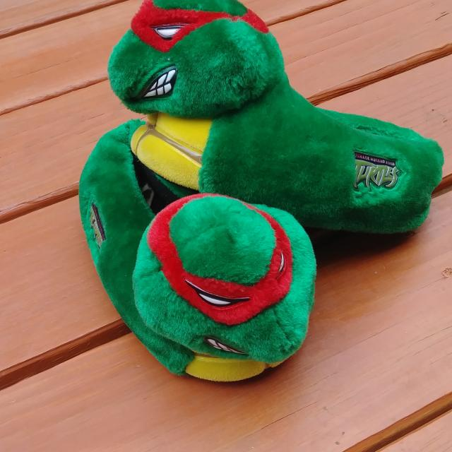 the best attitude free delivery wholesale price Best Ninja Turtle Slippers Boy Size 13-1 for sale in Appleton ...