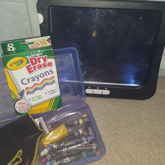 find more crayola dry erase crayons and light up board for sale at