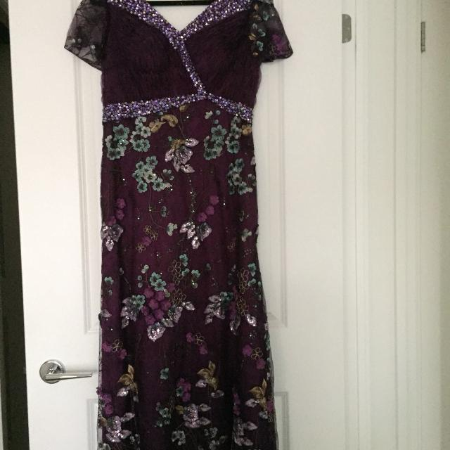 Best Purple Evening Gown for sale in Stouffville, Ontario for 2018
