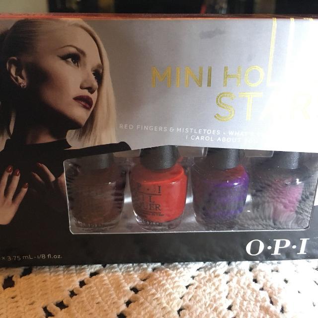 Best Opi Gwen Stefani Mini Nail Polish Set for sale in Dollard-Des ...