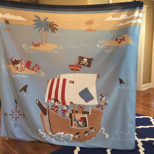 Find More Pirate Shower Curtain For Sale At Up To 90 Off
