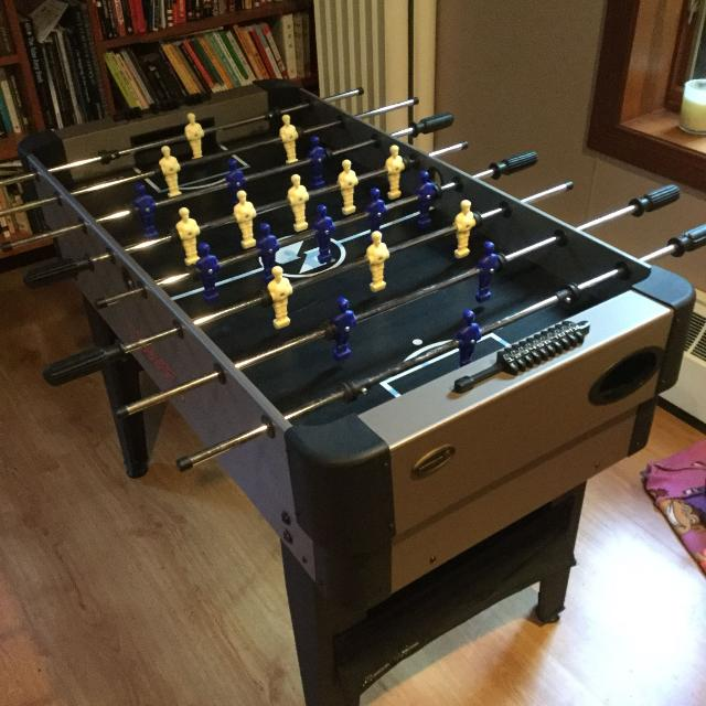 Find More Sportek Odyssey Foosball Air Hockey Table Multiple Games