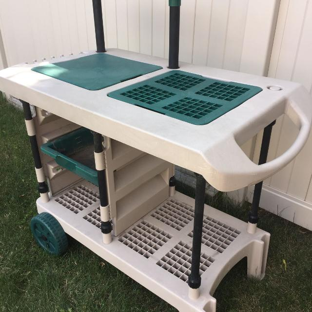 Best Camping Kitchen Prep Cart - Mobile & Outdoor Use for sale in ...