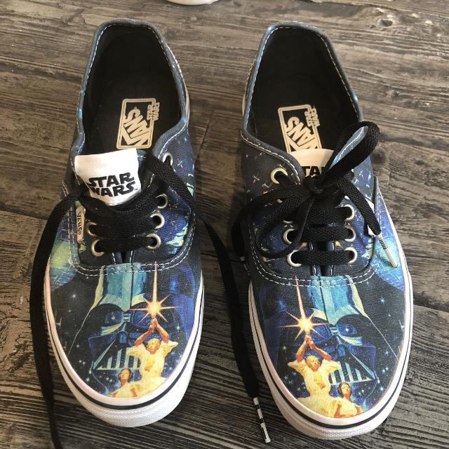 Find more Vans Star Wars Shoes - M6.5 Or W8 for sale at up to 90% off 5e2e42bcd